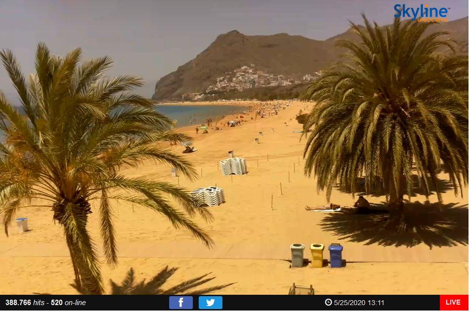 Испания открывает пляжи